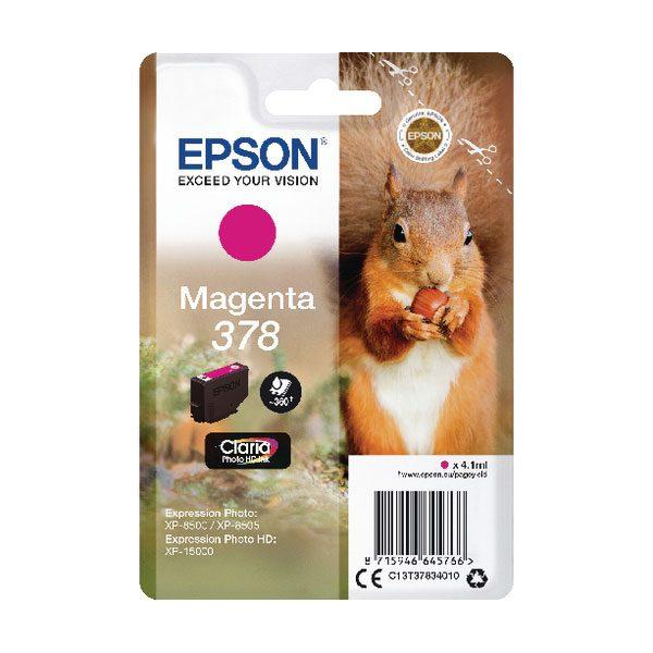 EPSON Cartridge Magenta C13T37834010 185 25 ET37834010 1