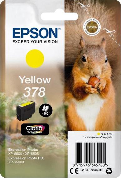 EPSON Cartridge Yellow C13T37844010 EPSON Cartridge Yellow C13T37844010 1
