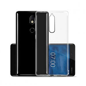 POWERTECH Θήκη Clear 0.5mm για Nokia 6 2018