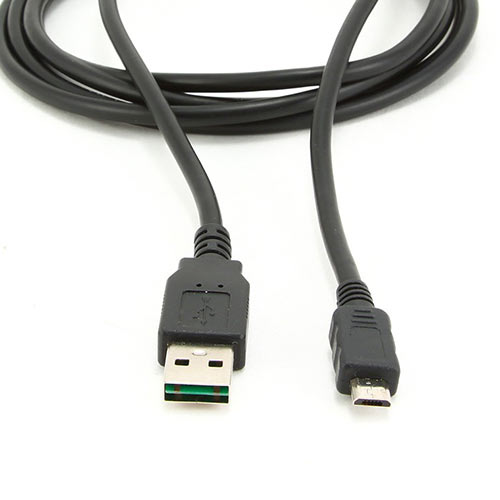 CABLEXPERT DOUBLE-SIDED USB 2.0 AM TO MICRO-USB CABLE 1M BLACK
