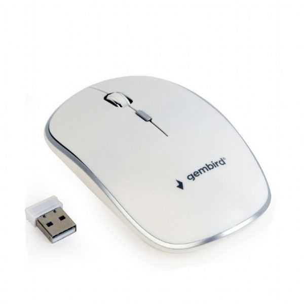 GEMBIRD WIRELESS OPTICAL MOUSE WHITE