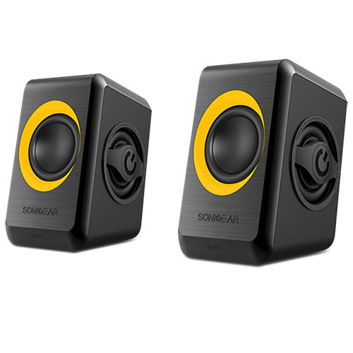 SONIC GEARS USB POWERED QUAD BASS SPEAKERS 2