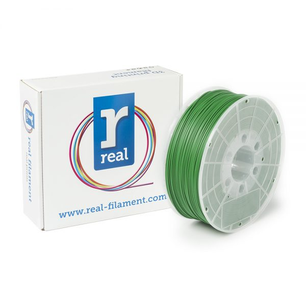 REAL ABS 3D Printer Filament - Green - spool of 1Kg - 1.75mm (REFABSGREEN1000MM175) 0003745 real abs green spool of 1kg 175mm 0 1