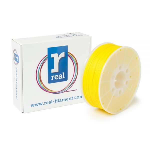 REAL ABS 3D Printer Filament - Yellow - spool of 1Kg - 1.75mm (REFABSYELLOW1000MM175) 0003752 real abs yellow spool of 1kg 175mm 0 1