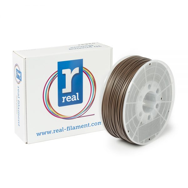 REAL ABS 3D Printer Filament - Brown - spool of 1Kg - 2.85mm (REFABSBROWN1000MM3) 0003755 real abs brown spool of 1kg 285mm 0 1