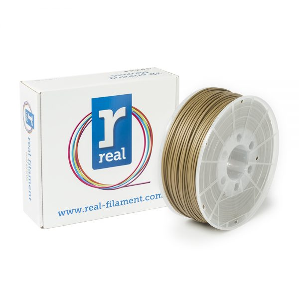 REAL ABS 3D Printer Filament - Gold - spool of 1Kg - 2.85mm (REFABSGOLD1000MM3) 0003756 real abs gold spool of 1kg 285mm 0 1