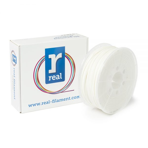 REAL ABS 3D Printer Filament - White - spool of 1Kg - 2.85mm (REFABSWHITE1000MM3) 0003767 real abs white spool of 1kg 285mm 0 1