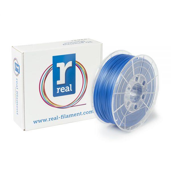 REAL RealFlex 3D Printer Filament - Blue - spool of 0.5Kg - 1.75mm (REFFLEXBLUE500MM17) 0003770 real realflex blue spool of 05kg 175mm 0 1