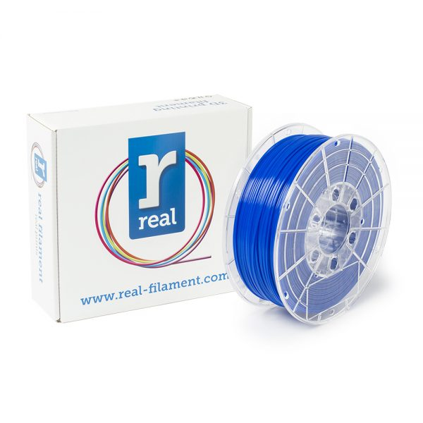 REAL PETG 3D Printer Filament - Blue - Spool of 3Kg - 1.75mm (REFPETGBLUE3KG) 0003772 real petg blue spool of 3kg 175mm 0 1