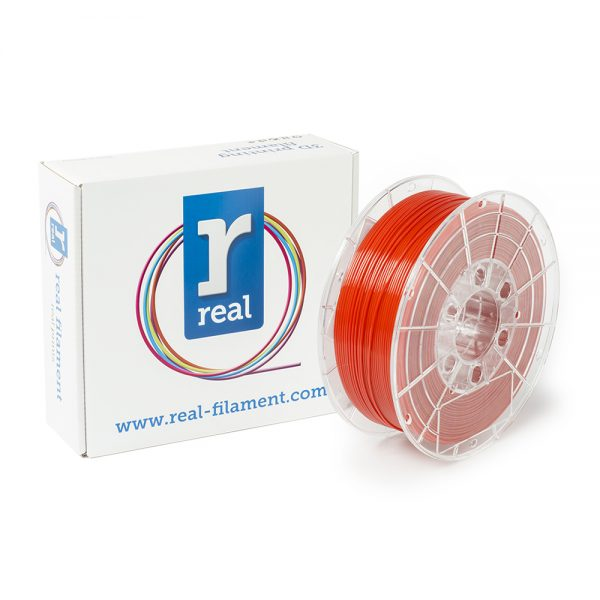 REAL PETG 3D Printer Filament - Red - Spool of 3Kg - 1.75mm (REFPETGRED3KG) 0003778 real petg red spool of 3kg 175mm 0 1
