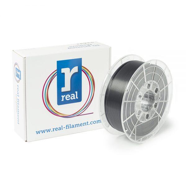REAL PETG 3D Printer Filament - Smoky black - spool of 1Kg - 1.75mm (REFPETGSMOKYBLACK1000MM175) 0003785 real petg smoky black spool of 1kg 175mm 0 1