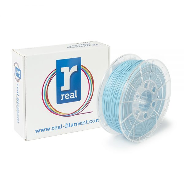 REAL PLA 3D Printer Filament - Light Blue - spool of 1Kg - 1.75mm (REFPLALBLUE1000MM175) 0003795 real pla light blue spool of 1kg 175mm 0 1