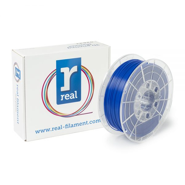 REAL PLA 3D Printer Filament - Blue - spool of 0.5Kg - 1.75mm (REFPLABLUE500MM175) 0003800 real pla blue spool of 05kg 175mm 0 1