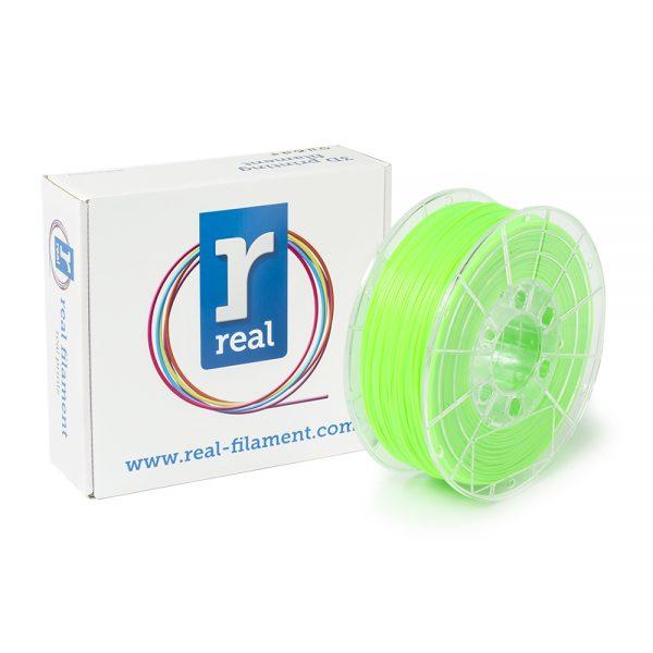 REAL PLA 3D Printer Filament - Fluorescent Green - spool of 1Kg - 1.75mm (REFPLAFGREEN1000MM175) 0003806 real pla fluorescent green spool of 1kg 175mm 0 1