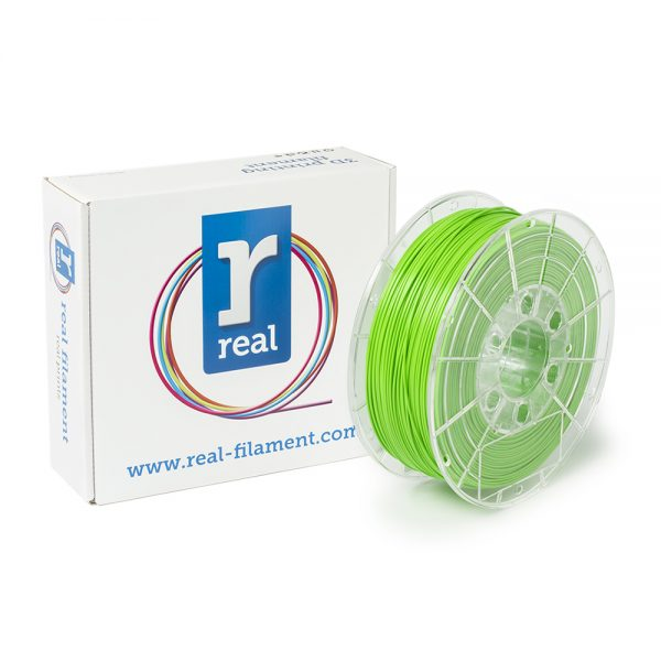 REAL PLA 3D Printer Filament - Nuclear green - spool of 1Kg - 1.75mm (REFPLANGREEN1000MM175) 0003809 real pla nuclear green spool of 1kg 175mm 0 1