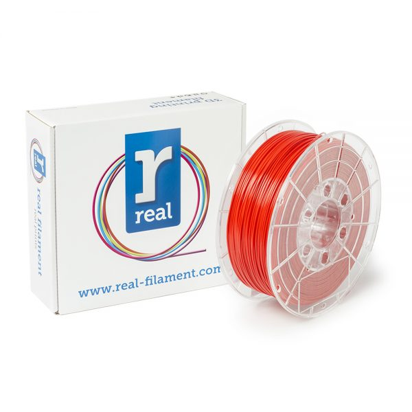 REAL PLA 3D Printer Filament - Red - spool of 1Kg - 1.75mm (REFPLARED1000MM175) 0003816 real pla red spool of 1kg 175mm 0 1