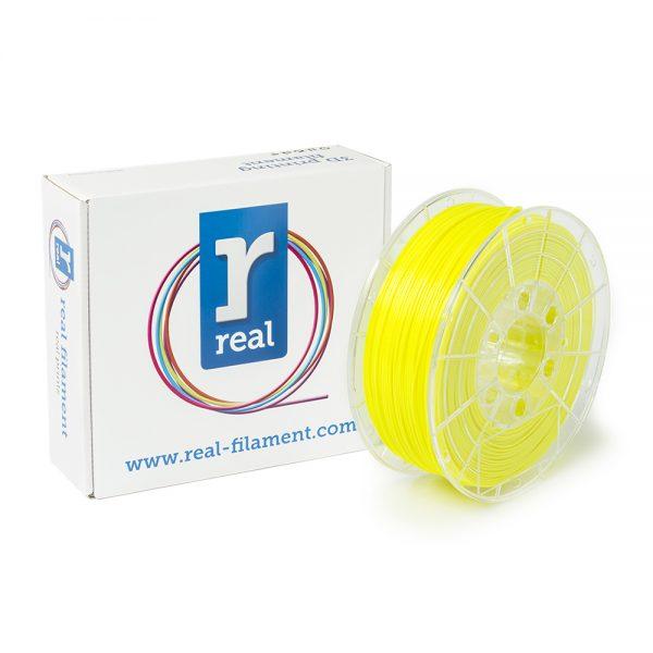 REAL PLA 3D Printer Filament - Fluorescent Yellow - spool of 1Kg - 1.75mm (REFPLAFYELLOW1000MM175) 0003940 real pla fluorescent yellow spool of 1kg 175mm 0 1