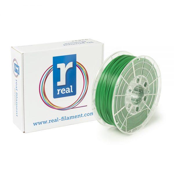 REAL PLA 3D Printer Filament - Green - spool of 0.5Kg - 1.75mm (REFPLAGREEN500MM175) 0003948 real pla green spool of 05kg 175mm 0 1