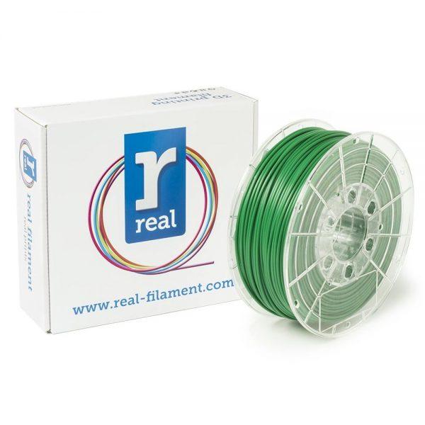 REAL PLA 3D Printer Filament - Green - spool of 0.5Kg – 2.85mm (REFPLAGREEN500MM3) 0003950 real pla green spool of 05kg 285mm 0 1