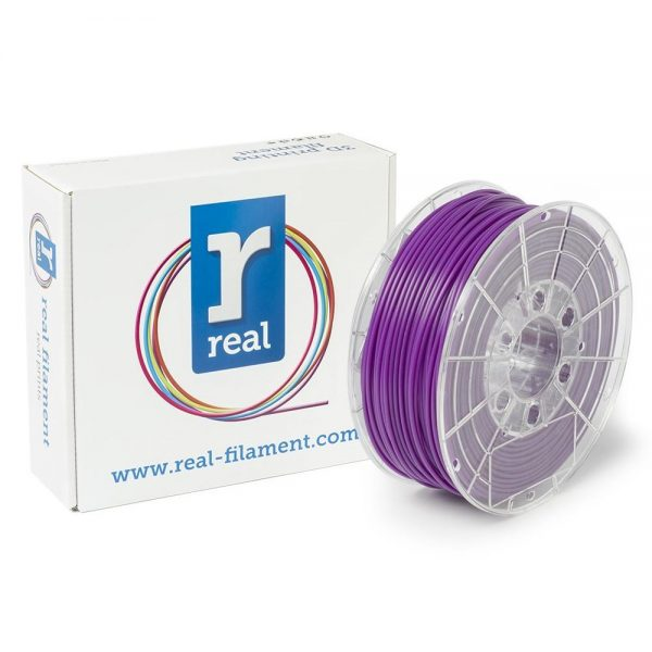 REAL PLA 3D Printer Filament - Purple - spool of 0.5Kg – 2.85mm (REFPLAPURPLE500MM3) 0003953 real pla purple spool of 05kg 285mm 0 1
