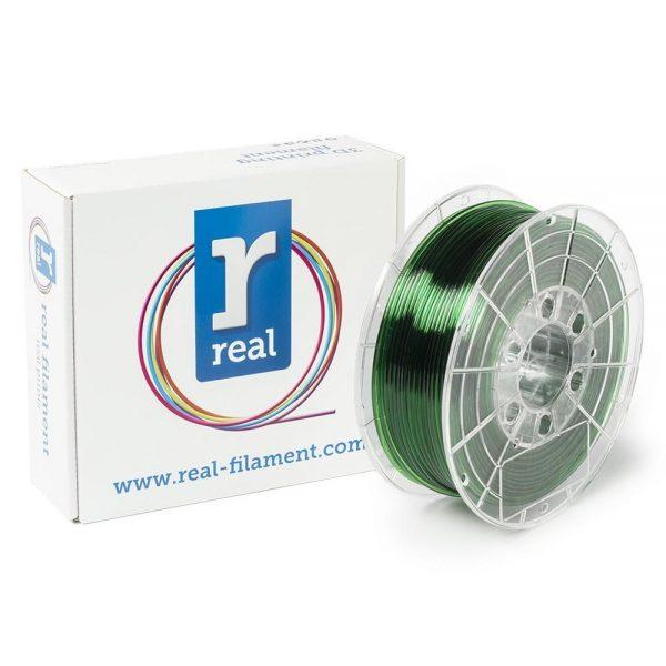 REAL PETG 3D Printer Filament - Translucent Green - spool of 1Kg - 2.85mm (REFPETGGREEN1000MM3) 0003957 real petg translucent green spool of 1kg 285mm 0 1
