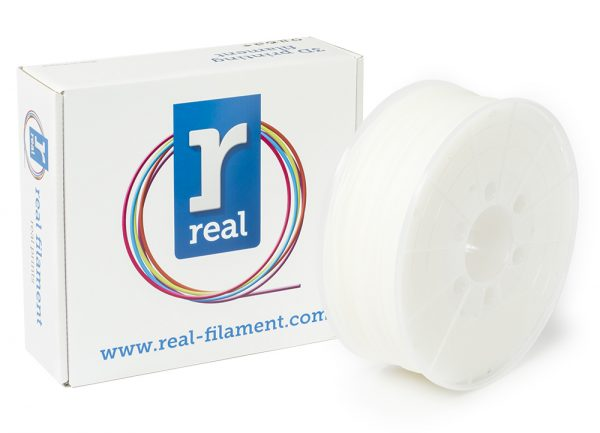 REAL HIPS 3D Printer Filament - Neutral - spool of 1Kg - 1.75mm (REFHIPSNEUTRAL175MM1000) 0003976 real hips neutral spool of 1kg 175mm 0 1