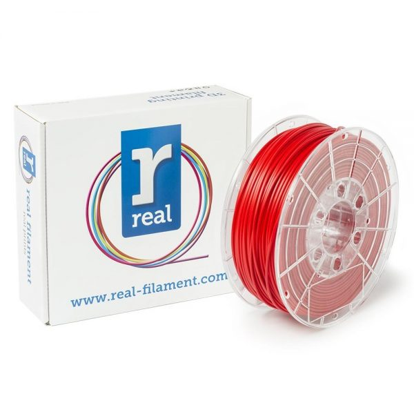 REAL PETG 3D Printer Filament - Red - spool of 0.5Kg - 2.85mm (REFPETGSRED500MM300) 0003980 real petg red spool of 05kg 285mm 0 1