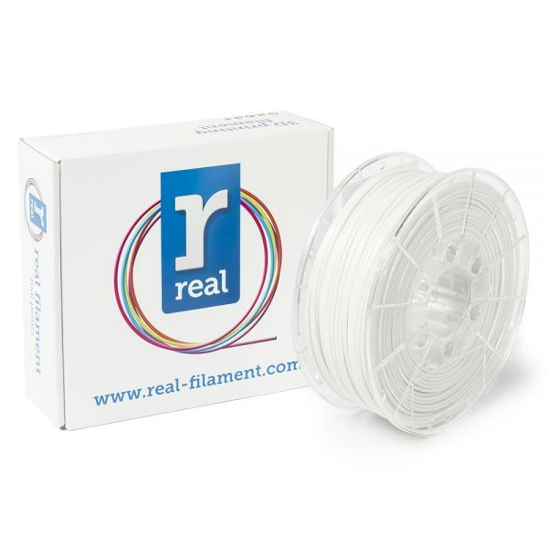 REAL PLA 3D Printer Filament - White - spool of 1Kg - 2.85mm (REFPLAWHITE1000MM3) 0003986 real pla white spool of 1kg 285mm 0 1