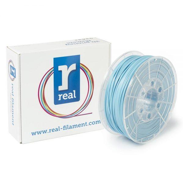 REAL PLA 3D Printer Filament - Light Blue - spool of 1Kg - 2.85mm (REFPLALBLUE1000MM3) 0003987 real pla light blue spool of 1kg 285mm 0 1