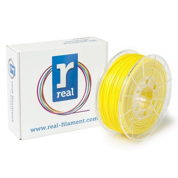 REAL PLA 3D Printer Filament - Fluorescent Yellow - spool of 1Kg - 2.85mm (REFPLAFYELLOW1000MM3) 0003989 real pla fluorescent yellow spool of 1kg 285mm 0 1