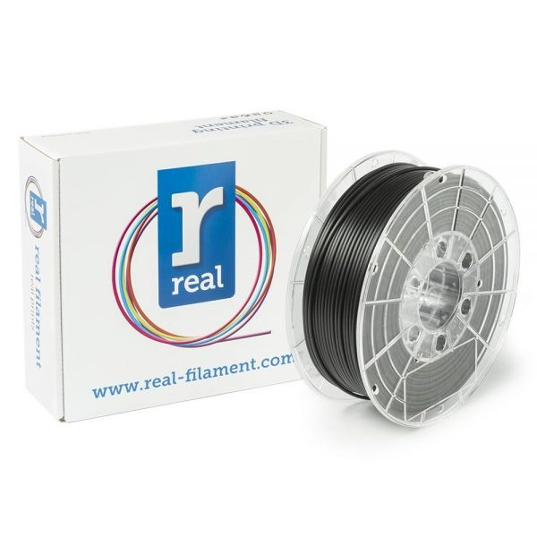 REAL PLA 3D Printer Filament - Black - spool of 1Kg - 2.85mm (REFPLABLACK1000MM3) 0003993 real pla black spool of 1kg 285mm 0 1