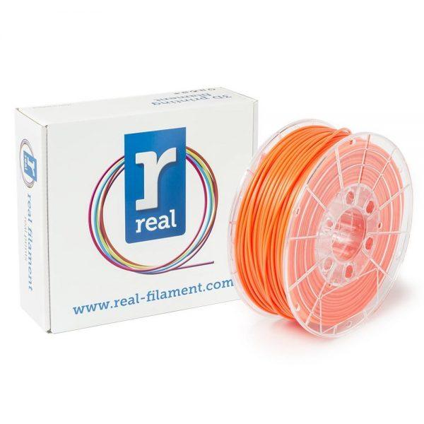 REAL PLA 3D Printer Filament - Fluorescent Orange - spool of 1Kg - 2.85mm (REFPLAFORANGE1000MM3) 0003995 real pla fluorescent orange spool of 1kg 285mm 0 1