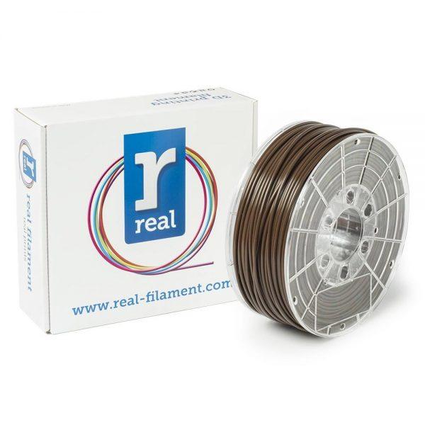 REAL PLA 3D Printer Filament - Brown - spool of 1Kg - 2.85mm (REFPLABROWN1000MM3) 0004001 real pla brown spool of 1kg 285mm 0 1