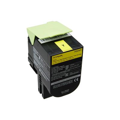 Toner Lexmark 70C2XY0 Yellow (70C2XY0) (LEX70C2XY0) 0004423 toner lexmark 70c2xy0 yellow 1