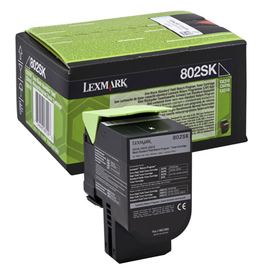 Toner Lexmark 80C2SK0 Black (80C2SK0) (LEX80C2SK0) 0004430 toner lexmark 80c2sk0 black 80c2sk0 0 1