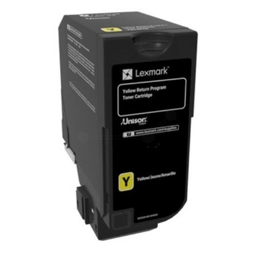 LEXMARK CS720/CS725/CX725 YELLOW RET. P. TONER CRTR (74C20Y0) (LEX74C20Y0) 0004445 lexmark cs720cs725cx725 yellow ret p toner crtr 74c20y0 0 1
