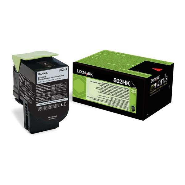 Toner Lexmark 80C2HK0 VHC Black (80C2HK0) (LEX80C2HK0) 0004447 toner lexmark 80c2hk0 vhc black 80c2hk0 0 1