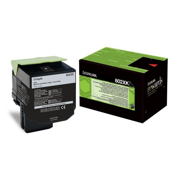 Toner Lexmark 80C2XK0 Black (80C2XK0) (LEX80C2XK0) 0004455 toner lexmark 80c2xk0 black 1