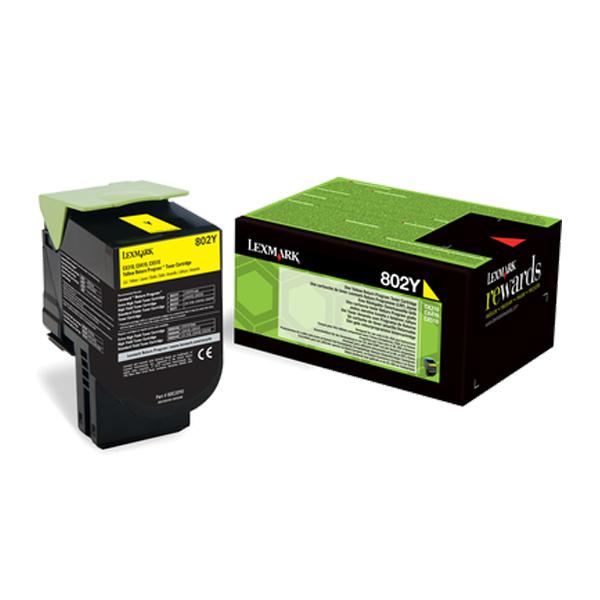 Toner Lexmark 80C20Y0 Yellow (80C20Y0) (LEX80C20Y0) 0004461 toner lexmark 80c20y0 yellow 80c20y0 0 1