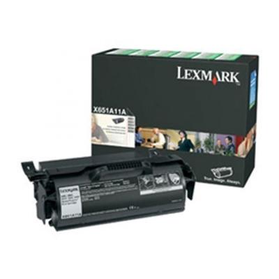 LEXMARK X651/652/654/656/658 RET.PR. TONER (7K) (X651A11) (LEXX651A11) 0004535 lexmark x651652654656658 retpr toner 7k 1