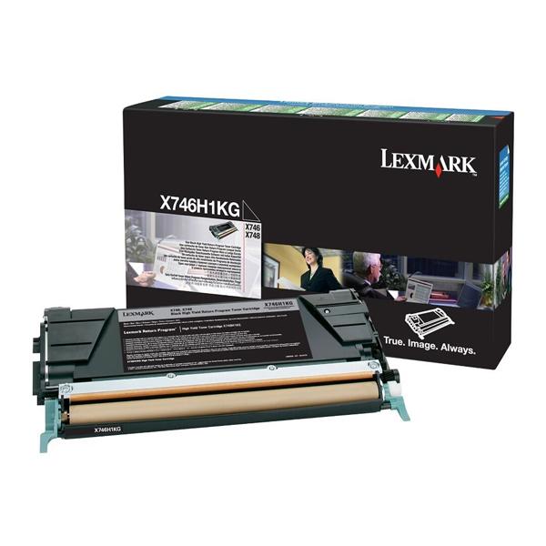 Toner Lexmark X746H1KG HC Black (X746H1KG) (LEXX746H1KG) 0004541 toner lexmark x746h1kg hc black 1