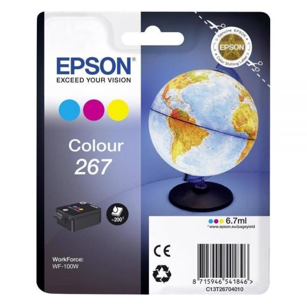 Epson Μελάνι Inkjet Series 267 3-Colour (C13T26704010) (EPST267040) 0004981 epson inkjet series 267 3 colour c13t26704010 0 1