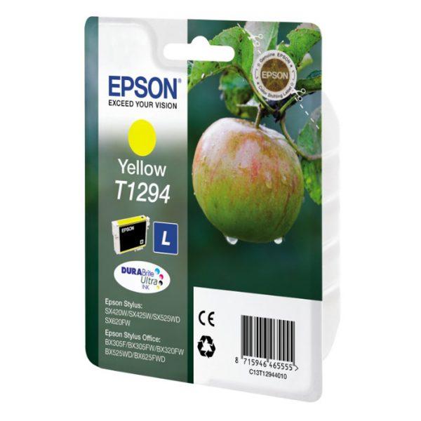 Epson Μελάνι Inkjet T1294 Yellow (C13T12944012) (EPST129440) 0005086 epson inkjet t1294 yellow c13t12944012 epst129440 1