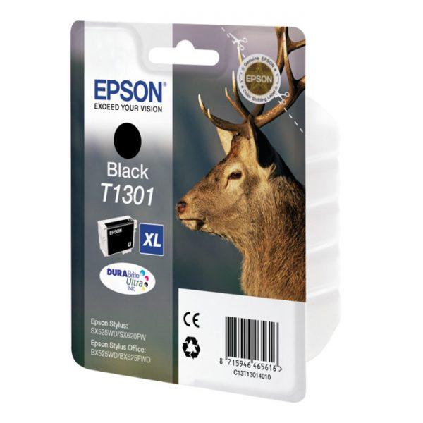Epson Μελάνι Inkjet T1301 XL Black (C13T13014012) (EPST130140) 0005099 epson inkjet t1301 xl black c13t13014012 0 1