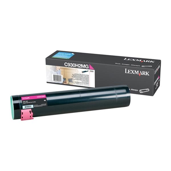 LEXMARK C935 MAGENTA TONER (C930H2MG) (LEXC930H2MG) 0010385 lexmark c935 magenta toner c930h2mg 0 1