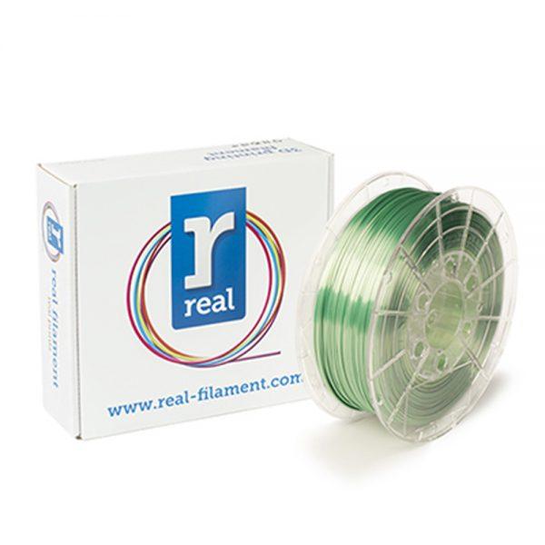 REAL PLA 3D Printer Filament - Satin Spring - spool of 0.5Kg – 2.85mm (REFPLASATINSPRING750MM285) 0011471 real pla satin spring spool of 075kg 285mm 0 1