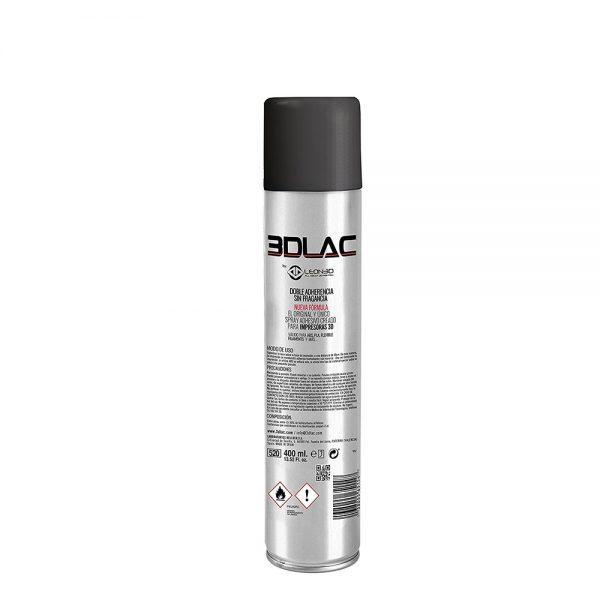 3DLAC Adhesion Spray 400 ml (ABS, PLA and PETG) (VAR3DPRINTLAC) 0014221 3dlac adhesion spray 400 ml abs pla and petg 0 1