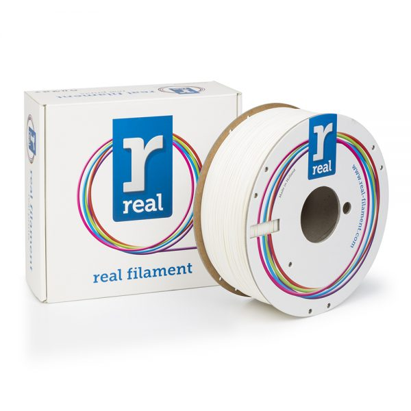 REAL ABS 3D Printer Filament - White - spool of 1Kg - 1.75mm 0017184 real abs 3d printer filament white spool of 1kg 175mm 0 1