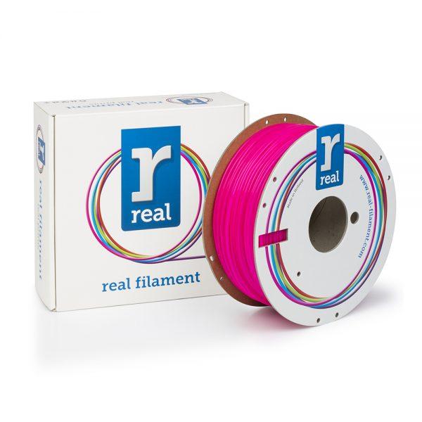 REAL PLA 3D Printer Filament - Fluorescent Pink - spool of 1Kg - 2.85mm 0017195 real pla 3d printer filament fluorescent pink spool of 1kg 285mm 0 1