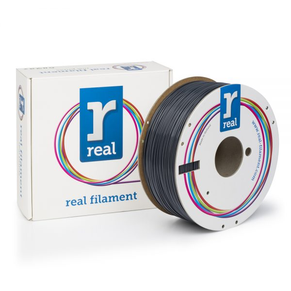 REAL ABS 3D Printer Filament - Gray - spool of 1Kg - 1.75mm 0017200 real abs 3d printer filament gray spool of 1kg 175mm 0 1